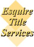 Logo Esquire Title Services